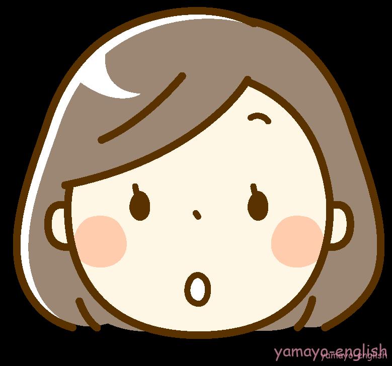 表情_女性_驚き