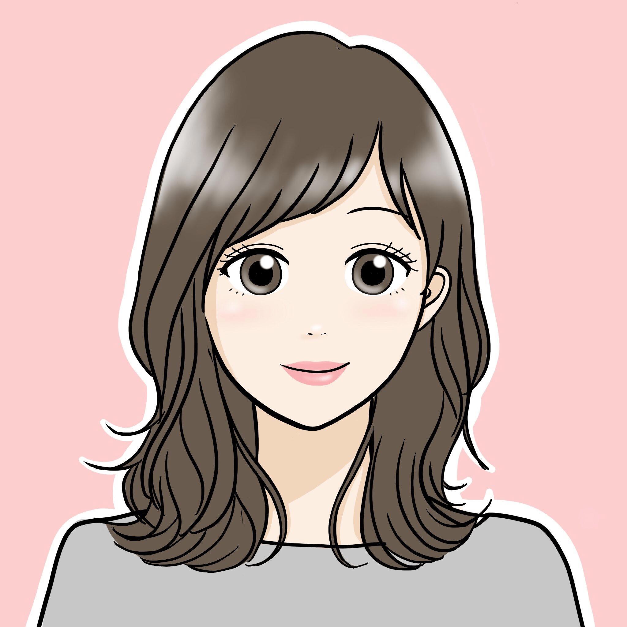 表情_女性_笑顔